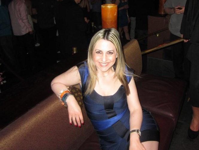 Erica Brooke at a club