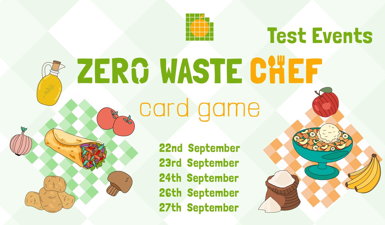 Zero Waste Chef Game Testing Events