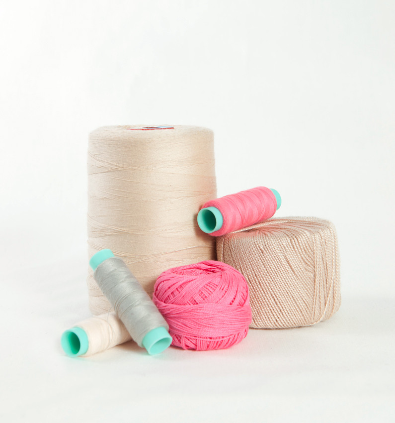 Lovely spools of cotton