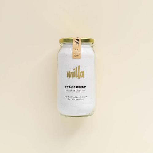 Milla pure vanilla collagen creamer 350g (unsweetened)