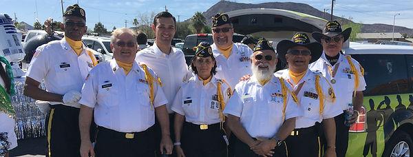 Assemblyman Stephen Silberkraus with Veterans