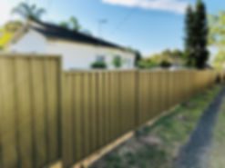 Bond Fencing Sydney Colorbond Specialists