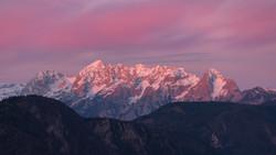Ajdna sunrise Slovenia