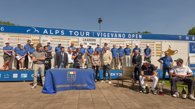 Alps Tour Vigevano Open in 18 shots
