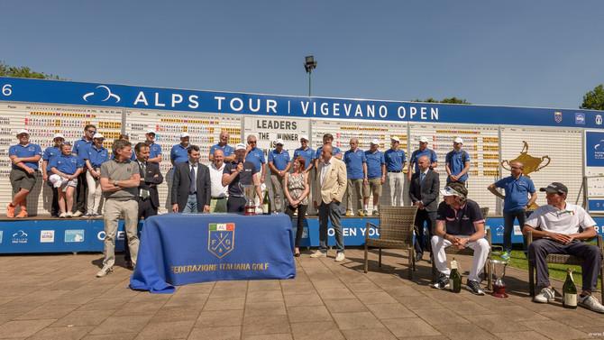 Alps Tour Vigevano Open in 18 shots