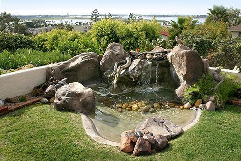 laghetti giardino sardegna