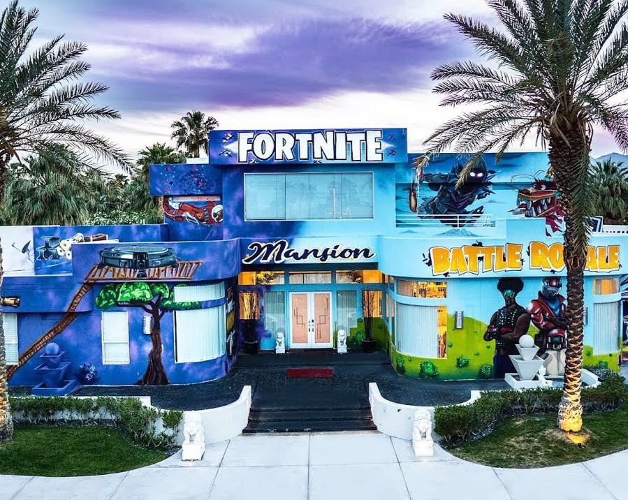 Graffiti Mansion, Fortnite, Youtube
