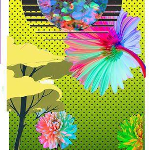 """""""Spring DreamScape"""" Digital to Mural Size Painting (2 of 4)"""