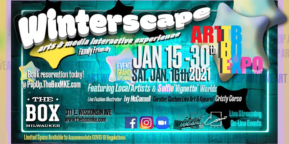 WinterScape: The Box Interactive Art Expo
