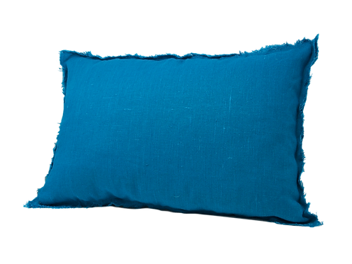 Thorn Cushion - Cyan
