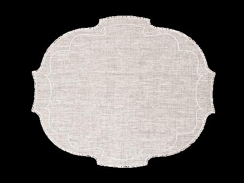Parentesi Oval - Natural wheat