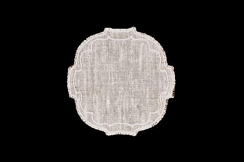 Parentesi Oval Coaster - Natural