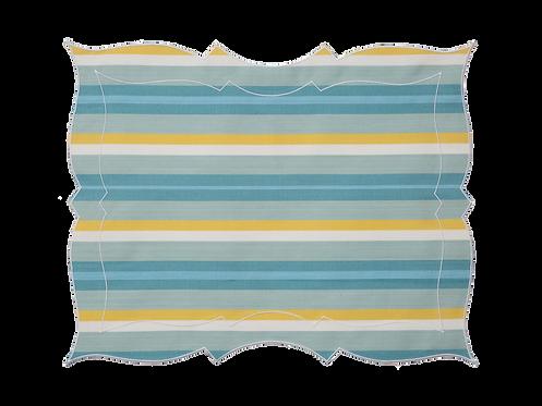 Parentesi Rectangular - Lagoon Stripe