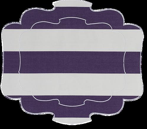 Parentesi 800 - Aubergine Stripes