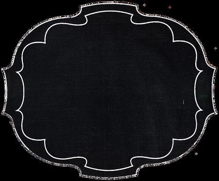 Parentesi Oval - Black