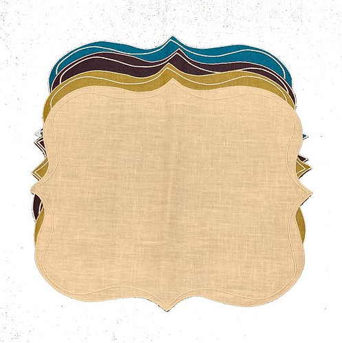 Set of 4 Krinkle Placemats_color mix