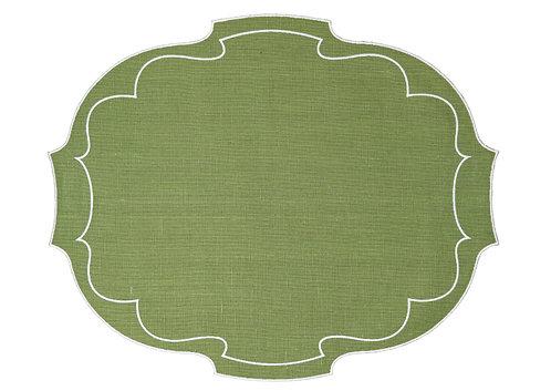Parentesi Oval - Bright Green