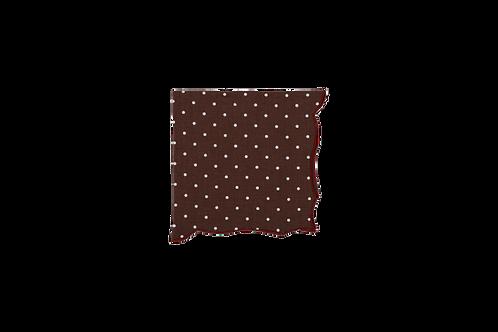 Berry Napkin Pois Brown 48cm