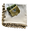 Thumbnail: Tablecloth Piquet Ponpon - Ivory/Brique