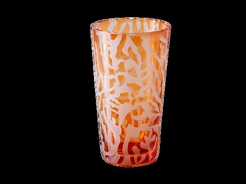 Drinking Glass Corallo - Set of 4_Orange