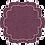 Thumbnail: Coaster Parentesi Curly - set of 6