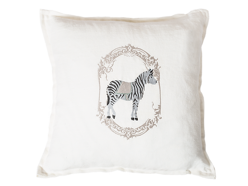 Circus Cushion - Zebra