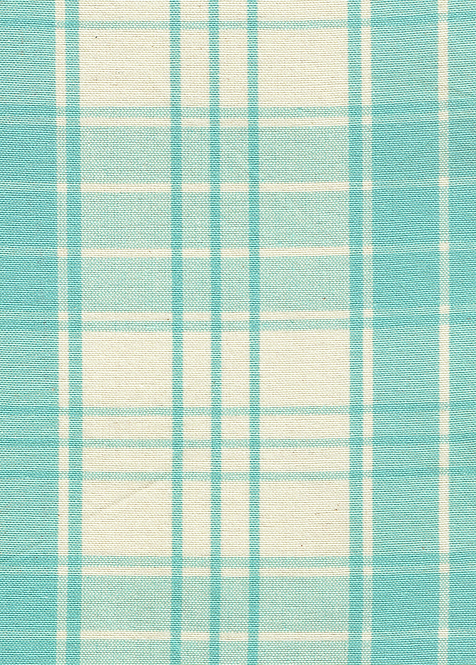 Madras Fabric by mt - Turquoise