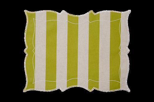 Parentesi Rectangular - Wide Lime/Natural Line
