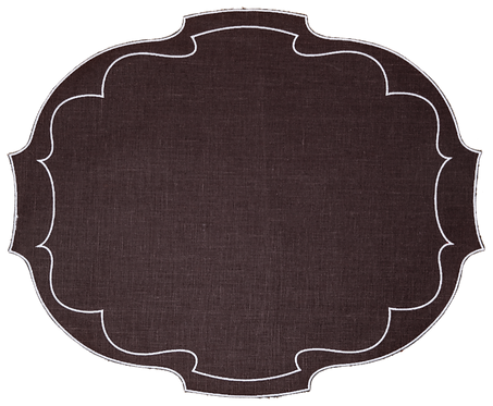 Parentesi Oval - Brown