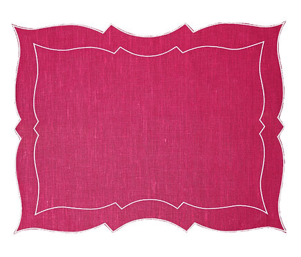 Parentesi Rectangular - Bright Rose