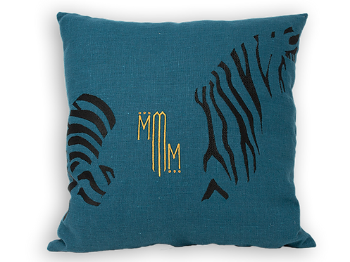 Africa Cushion - Zebra