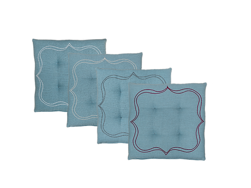 Seat Cushion Square - Set of 4_Solesmes