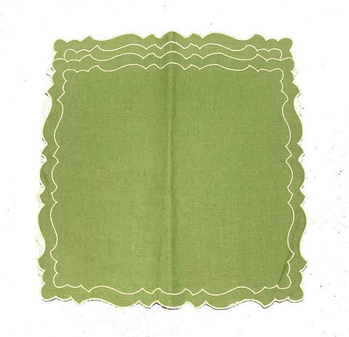 Set of 2 Cake placemats smaller_green