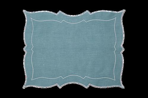 Parentesi Rectangular - Summer blue