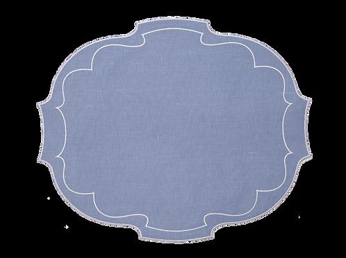 Parentesi Oval - Fleur de vinca