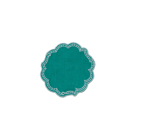 Paper Coaster - Aquamarine