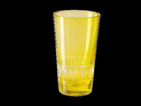 Drinking Glass Raimbow - Set of 4_Lime