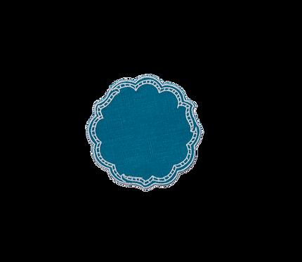 Paper Coaster - Cyan