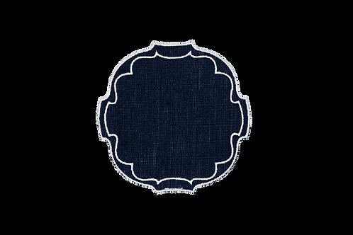 Parentesi Oval Coaster - Navy