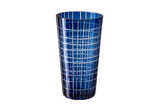 Drinking Glass Madras - Set of 4_Blue