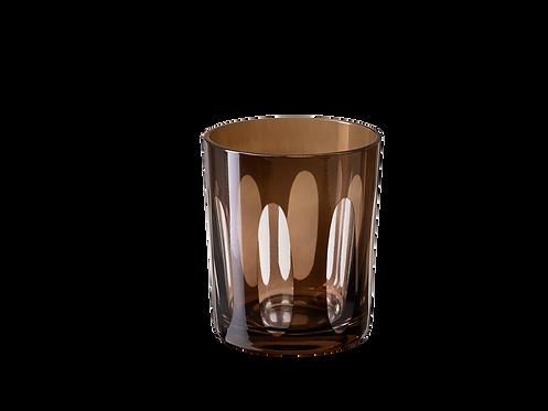 Whisky Ellypse- Set of 4_Brown
