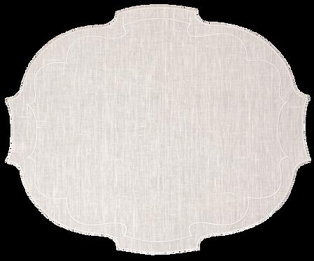 Parentesi Oval - Ivory