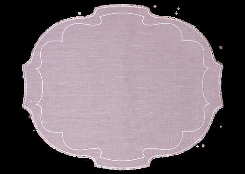 Parentesi Oval - Powder Rose