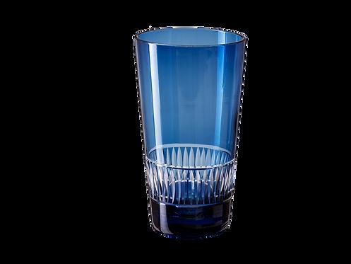 Drinking Glass Raimbow - Set of 4_Blue