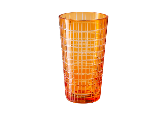 Drinking Glass Madras - Set of 4_Orange
