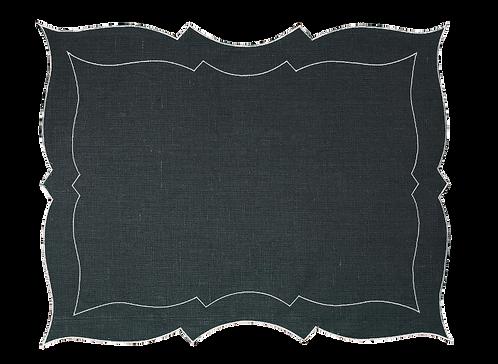 Parentesi Rectangular - Dark grey