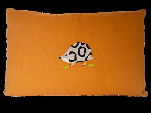 Hedgehog Cushion - Amber