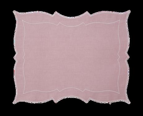 Parentesi Rectangular - Dusty pink
