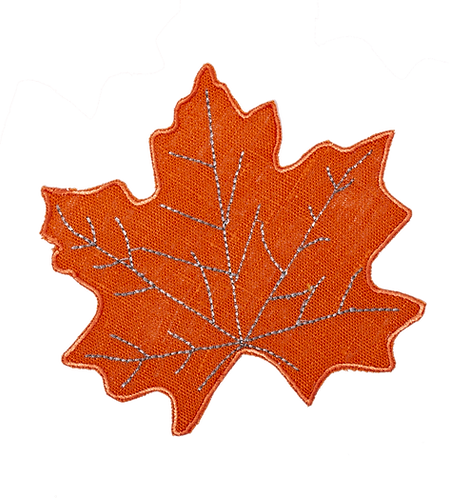 Coaster Leaf - set of 4