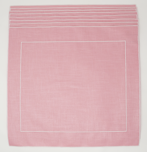 Set of 8 Placemats FrameQ - Pink